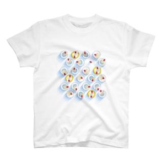 ショートケーキな日 T-shirts