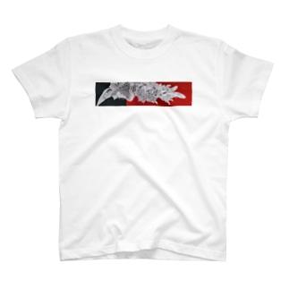 水墨絵師 松木墨善の鳳凰図 T-shirts
