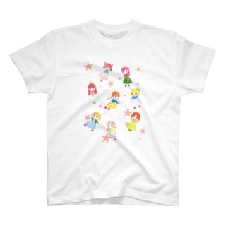 女の子ばっかり T-shirts