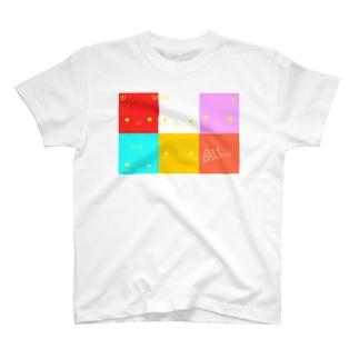 ぽよこスクエア T-shirts