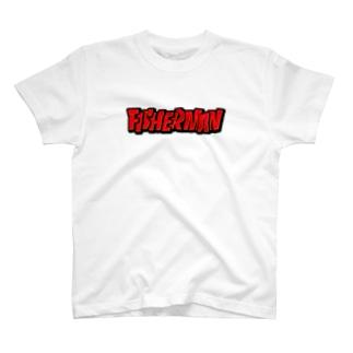 FISHERMAN_ロゴ T-Shirt