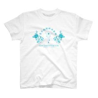 東京魂掴神倶楽部-青- T-shirts