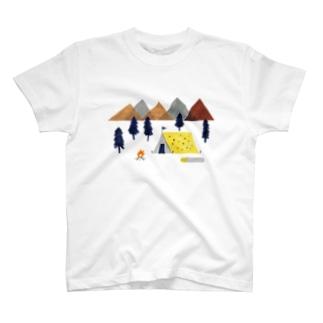キャンプ T-shirts