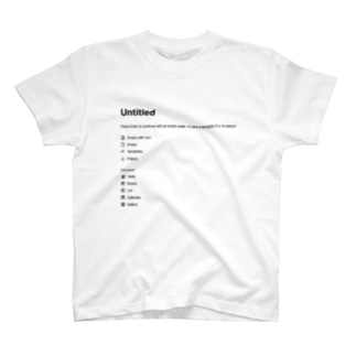 untitled Basic T-Shirt notion T-shirts