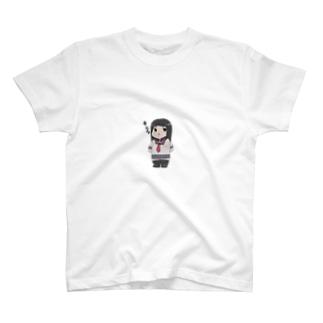 キメ顔れいかちゃん T-shirts