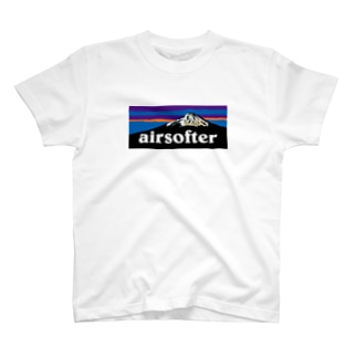 AIRSOFTER mountain T-shirts