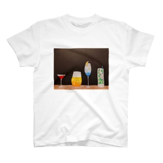 季節のカクテル T-shirts