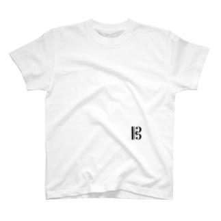ハ音記号onkaロゴなし T-shirts