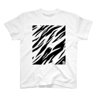 TIGER PATTERN & LOGO T-shirts