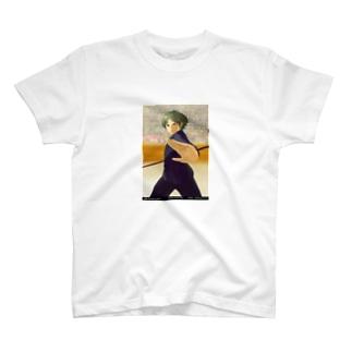 闘技演武【公式グッズ】MGF06若き英雄ヨシュア T-shirts