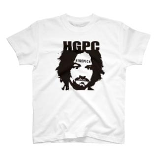 ヒゲピカ チャールズ・マンソン T-shirts