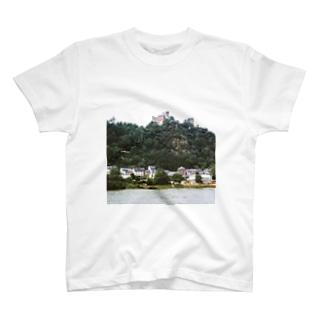 ドイツ:シェーンブルク城 Germany: Schönburg am Rhein T-shirts