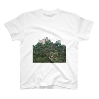 ドイツ:シェーンブルク城とライン川 Germany: Burg Schönburg am Rhein T-shirts