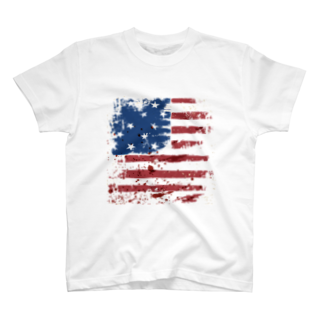 GRAPHICAのStars and Stripes T-shirts