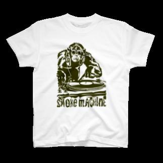 GRAPHICAのsmoke monkey T-shirts