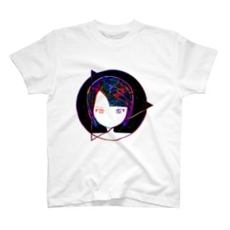 宇宙ガール いろじろ T-shirts