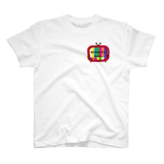 レトロテレビ イラスト T-shirts