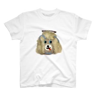 大須賀理恵の犬バッグ君 T-shirts