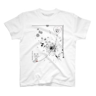 猫 T-Shirt
