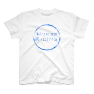 HORSE RIDING T-shirts