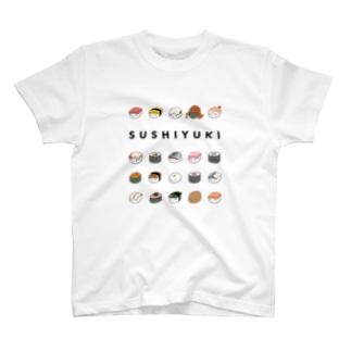 寿司ゆきズ T-shirts