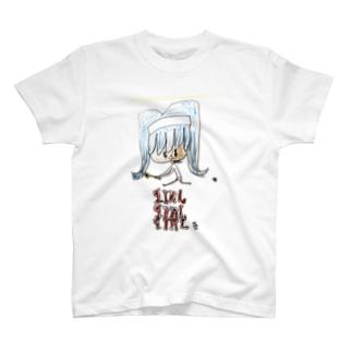 girlgirlgirl(テニスガール) T-shirts