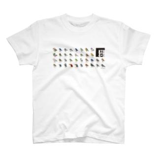 KTR 4×9(ブラック) T-shirts