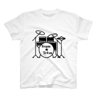 Team Tetsu ロゴ T-Shirt