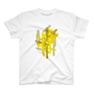 AHD_Lines_yellow T-shirts