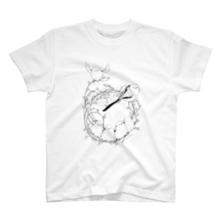 シマエナガリース T-shirts