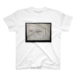 カフェキッチンパース T-shirts