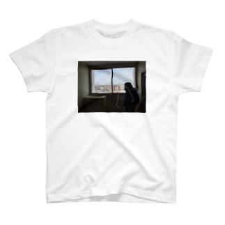 あの雲みたいにどこまででも行けると思ってた T-shirts