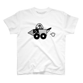文鳥ドリル T-shirts