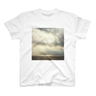 sunset beach T-shirts