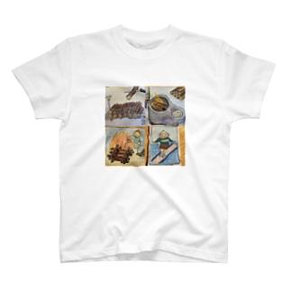 いいとこどりクリーマン T-shirts