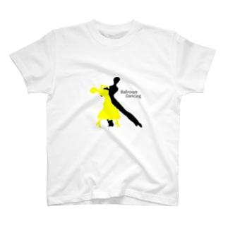 社交ダンス×シルエット T-shirts