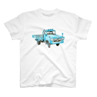 水色トラック T-shirts