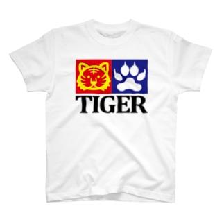 """""""TIGER"""" パロディーTシャツ T-shirts"""