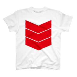 """3LINE""""RED"""" T-shirts"""