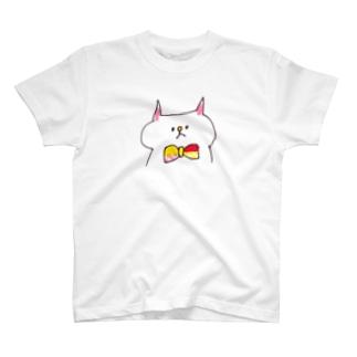蝶ネクタイねこ T-shirts