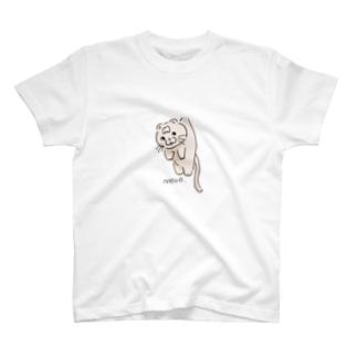 つられ猫トム T-shirts