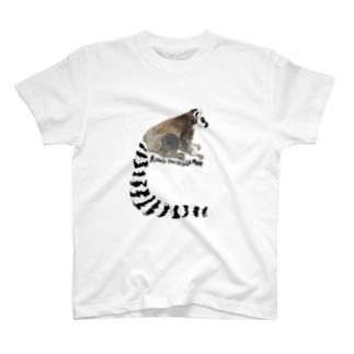 ワオキツネザル T-Shirt