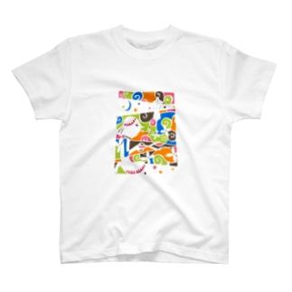 夜を切る T-shirts