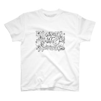 しーちゃんときょうりゅう探検隊 T-shirts