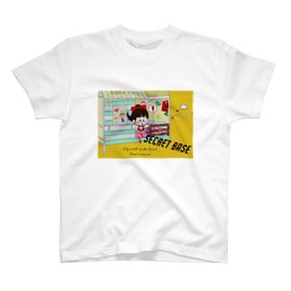 秘密基地 T-shirts