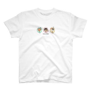 タオル三銃士 T-shirts