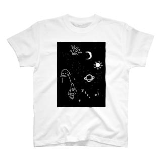 キラキラプラネタリウム T-shirts