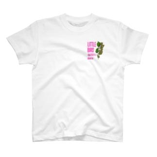 CRAFTBEER&OBANZAI LITTLE BIRD T-shirts