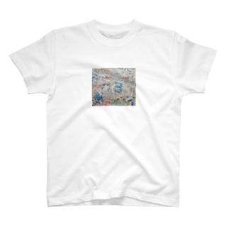 きのこ線描き T-shirts