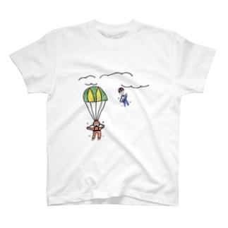 Sky Diving T-shirts